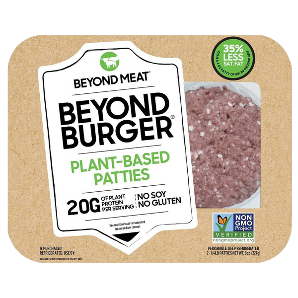Beyond Meat, Beyond Meat Burger 2 patties 8oz (Frozen)