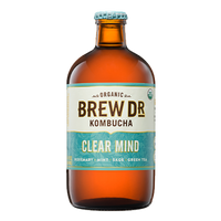 BREW DR, Kombucha Clear Mind 14oz (Chill)