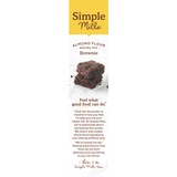 Simple Mills, Gluten Free Almond Flour Brownie Mix 12.9 oz