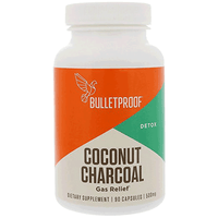 Bulletproof, Coconut Charcoal Gas Relief 90caps