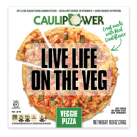 Caulipower, Gluten Free Cauliflower Pizza Veggie 10.9 oz (Frozen)