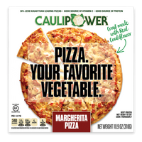 Caulipower, Gluten Free Cauliflower Pizza Margherita 10.9 oz (Frozen)