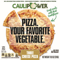 Caulipower, Gluten Free Cauliflower Pizza Three Cheese 10.9oz (Frozen)