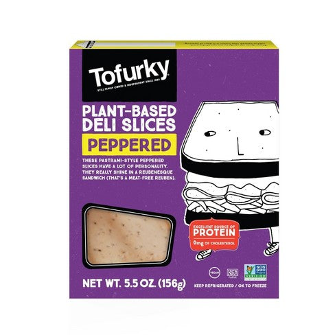 Tofurky, Plant-Based Deli Slices Peppered 5.5oz (Chill)