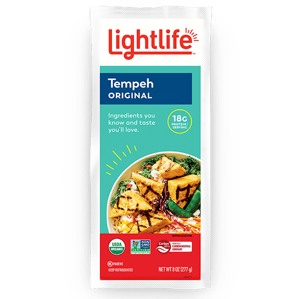 Lightlife, Organic Original Soy Tempeh 8 oz (Chill)