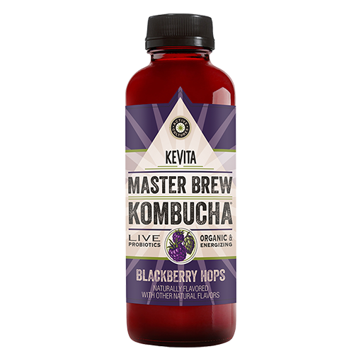 KEVITA, Kombucha Blackberry Hops 15.2oz (Chill)