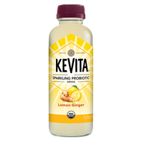 KEVITA, Sparkling Probiotic Drink Lemon Ginger 15.2oz (Chill)