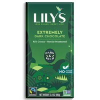 Lily's Sweets, Extremely Dark Chocolate 85% Cacoa 2.8oz