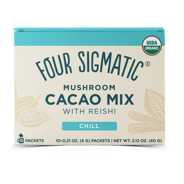Four Sigmatic, Mushroom Cacao Mix with Reishi 10 Packets