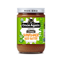 Once Again, Organic Creamy Sunflower Seed Butter 16 oz