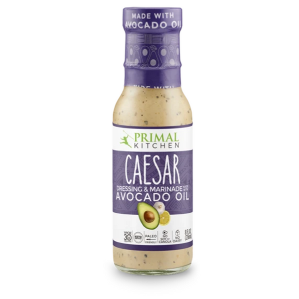 PRIMAL KITCHEN, Caesar Dressing with Avocado Oil 8oz