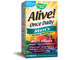Nature's Way, Alive! Once Daily Men's Ultra Potency Multivitamin 60 Tablets