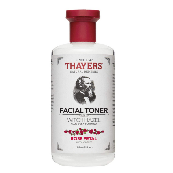 Thayers, Witch Hazel with Aloe Vera Alcohol-Free Toner Rose Petal 335ml