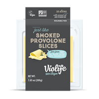 Violife, just like Smoked Provolone Slices 7.05oz (Chill)