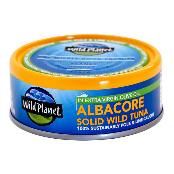 Wild Planet, Albacore Solid Wild Tuna In Extra Virgin Olive Oil 5oz