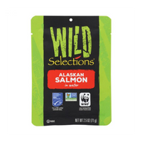 Wild Selections, Alaskan Salmon in Water 2.5oz