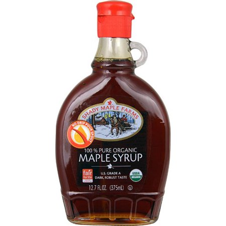 Shady Maple Farms, 100% Pure Organic Maple Syrup 12.7oz