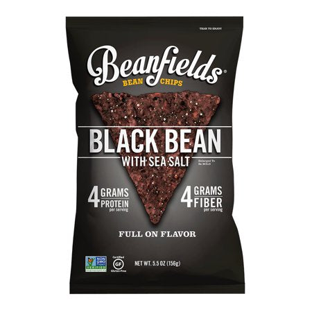 Beanfields, Black Bean & Sea Salt Bean Chips 5.5oz