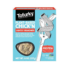 Tofurky, Plant-Based Chick'n Lightly Seasoned 8oz (Chill)