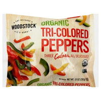 Woodstock, Organic Tri-colored Peppers 10oz (Frozen)