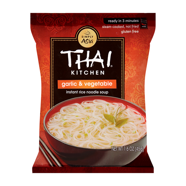 Thai Kitchen, Garlic & Vegetable Instant Rice Noodles 1.6oz