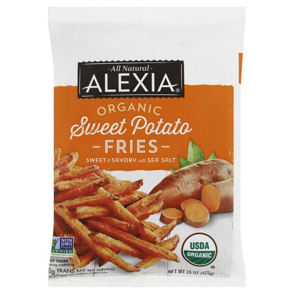 Alexia, Organic Sweet Potato Fries 15 oz (Frozen)