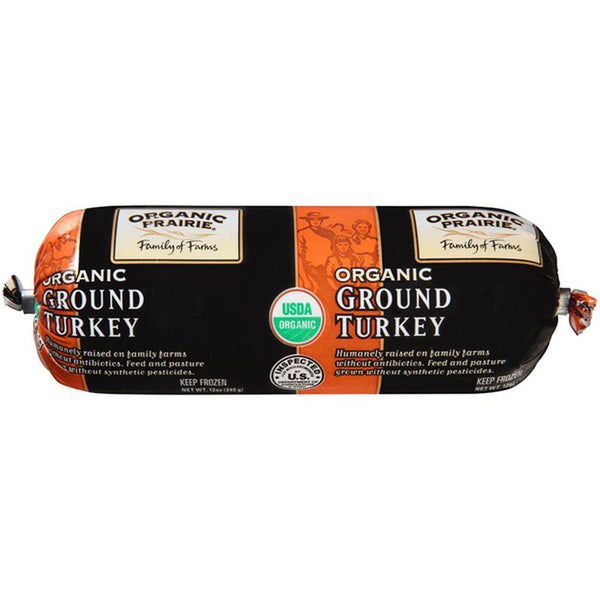 Organic Prairie, Organic Ground Turkey Mince 12oz (Frozen)