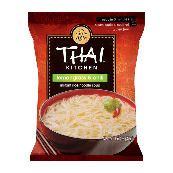 Thai Kitchen, Lemongrass & Chili Instant Rice Noodles 1.6oz