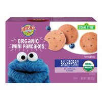 Earth Best, Mini Pancake Blueberry 8 oz (Frozen)