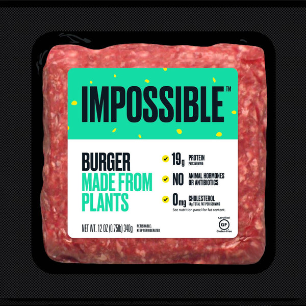 Impossible Foods, Impossible Meat Beef Made From Plants 12oz (Frozen)