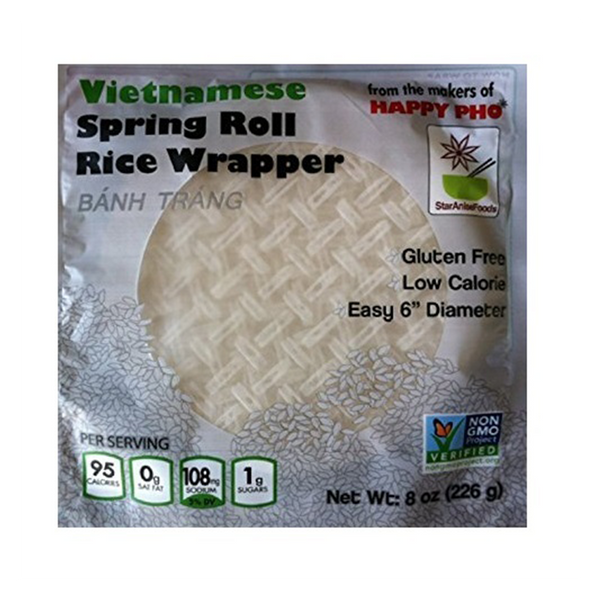 Star Anise Foods, Rice Spring Roll Wrapper 8 oz