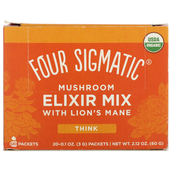 Four Sigmatic, Mushroom Elixir Mix with Lion's Mane 20 Packets