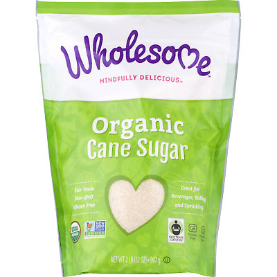 Wholesome Sweeteners, Organic Cane Sugar 16oz