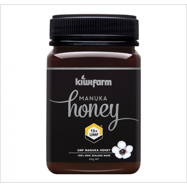 Kiwi Farm, Manuka Honey UMF +15 500g