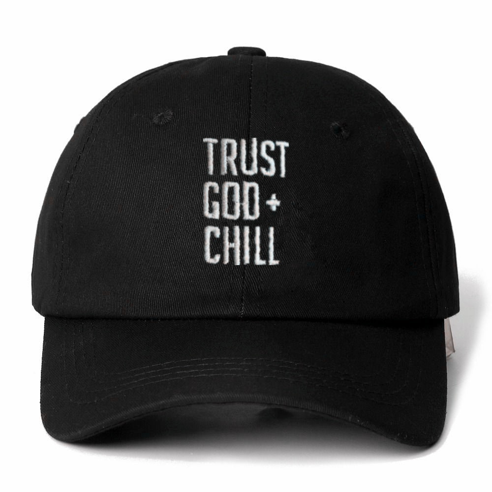 TRUST GOD + CHILL DAD HAT