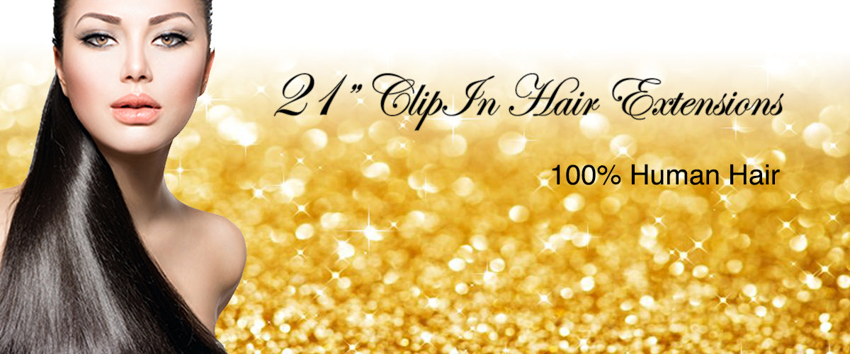 21 Remy Human Hair Extension Collection Choose Your Color Clip In