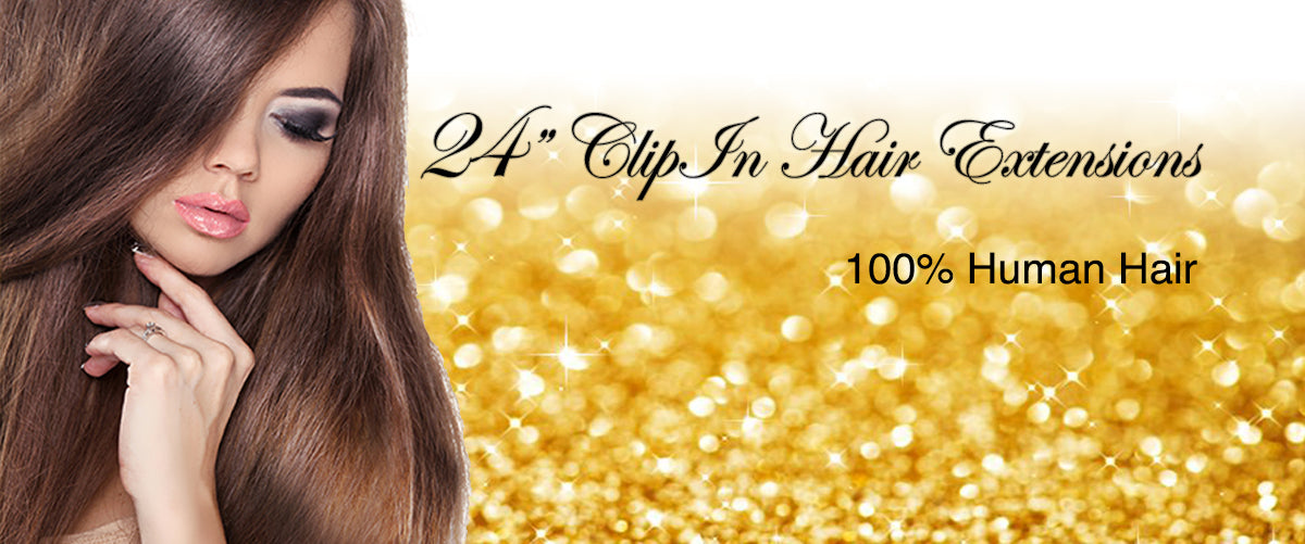 24 Clip In Hair Extensions Choose Your Color Celebrity Strands
