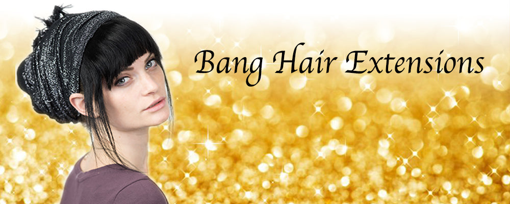 Bang Clip On Hair Extensions Celebrity Strands