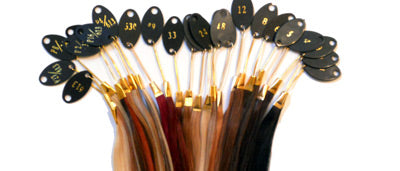 Clip In Extension Hair Color Samples