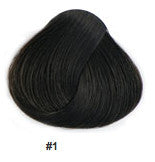 "18"" Clip In Remy Hair Extensions: Black Stallion No. 1 - Celebrity Strands  - 2"