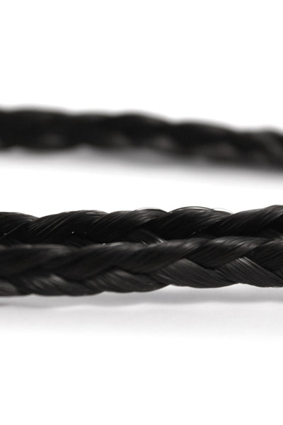 Double Braid Band: Black - Celebrity Strands  - 3