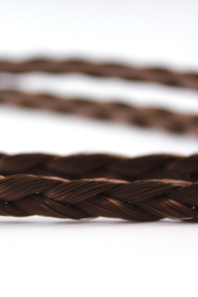 Double Braid Band: Dark Brown - Celebrity Strands  - 3
