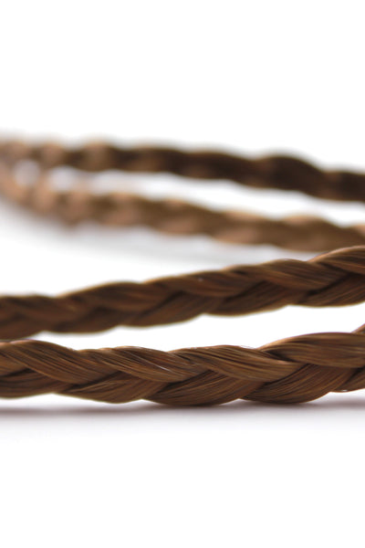 Double Braid Band: Medium Brown - Celebrity Strands  - 3