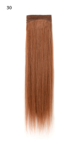 Weft Human Hair Extensions: Color #30