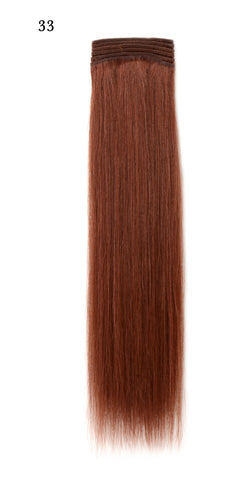 Weft Human Hair Extensions: Color #33