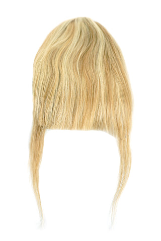 Bang Clip-On Extensions: Color #8/24 Blonde and Light Blonde Highlights