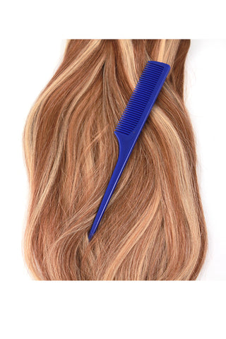Rat Tail Comb: Blue - Celebrity Strands  - 2