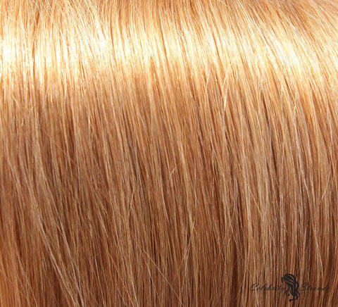 "24"" Clip In Remy Hair Extensions: Dirty Blonde No. 18 - Celebrity Strands  - 1"
