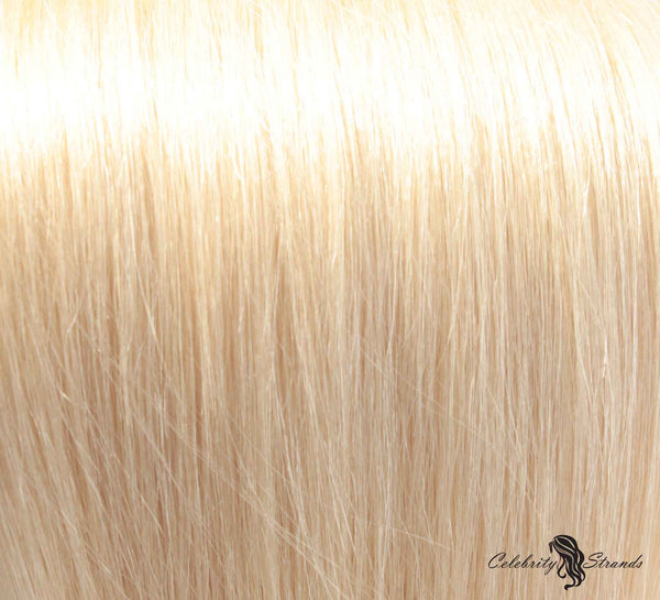 "18"" Clip In Remy Hair Extensions: Monroe Blonde No. 613 - Celebrity Strands  - 1"