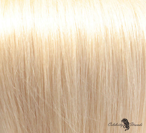 "24"" Clip In Remy Hair Extensions: Monroe Blonde No. 613 - Celebrity Strands  - 1"